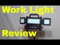 Husky Multi Directional LED Worklight Review-2500 Lumens