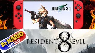 Final Fantasy 7 Coming To Switch | Dr Mario World  |  Resident Evil 8 In Early Development Rumor