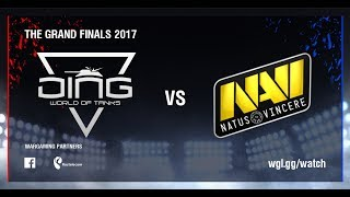 World of Tanks - DiNG vs Natus Vincere G2A - Day 2, Group Stage, The Grand Finals 2017