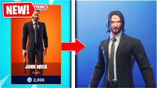 How To Get The JONH WICK Skin Forr FREE! In Fortnite Season 9 (New FREE Fortnite Skins)