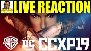 LIVE REACTION - Brazil CCXP HBOMax, WB 2020, Wonder Woman 1984 Panels