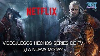 LOS VIDEOJUEGOS SE CONVIERTEN EN SERIE DE TV, ¿NUEVA MODA? - vBLOG