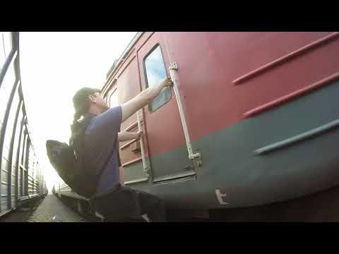 Заброшенный пассажирский поезд-призрак приговорённый к сжиганию | Проникли на базу РЖД-Ритуал-Сервис