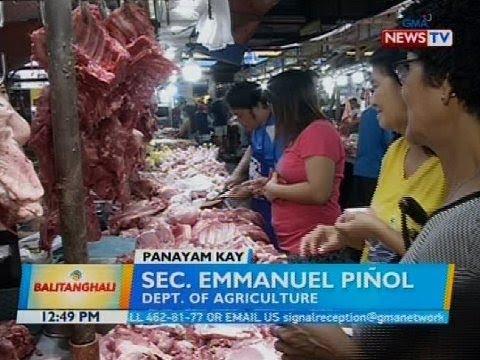Panayam kay Sec. Emmanuel Piñol, Dept. of Agriculture
