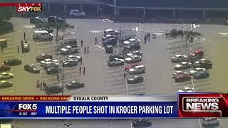 Multiple people shot in Kroger parking lot
