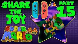 Super Mario 64 CO-OP: Split Joy-Con Controllers   Ep. 15 - THE GRAND FINALE!!!
