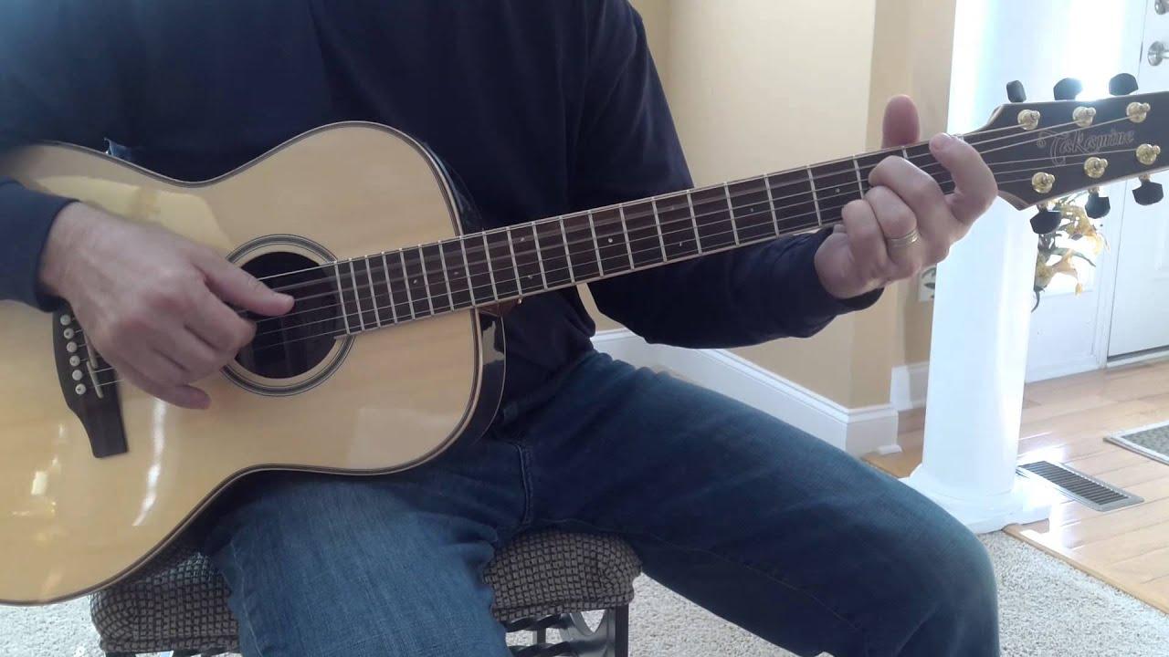 Kodachrome Paul Simon Guitar Lesson Youtube
