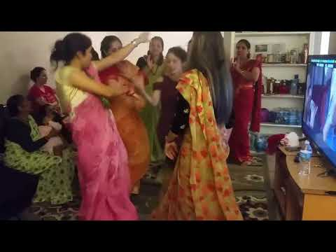 Jham jham darkiyo pani,,, new year special dance in america,
