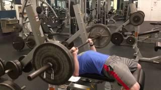 lucas teague cutting bench press january 24 2017
