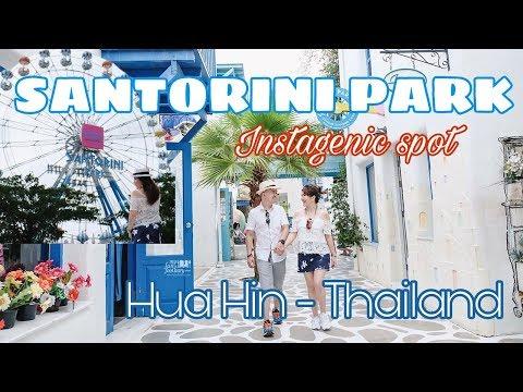 Drive to Santorini Park Cha-Am, Hua Hin, Thailand - Vlog Myfunfoodiary