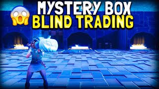 Mystery Box Blind Trading With Rich Items in Fortnite Save The World