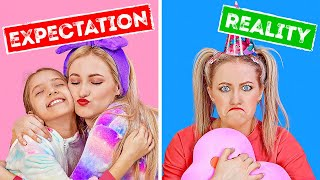 EXPECTATION VS REALITY || Funny Relatable Situations With Sibling by 123 GO! Play