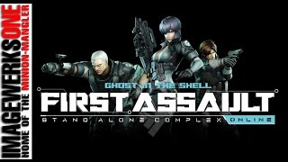 Ghost In The Shell: First Assault - PC Gameplay #001 - Intro Cinematics and Training - Max Settings