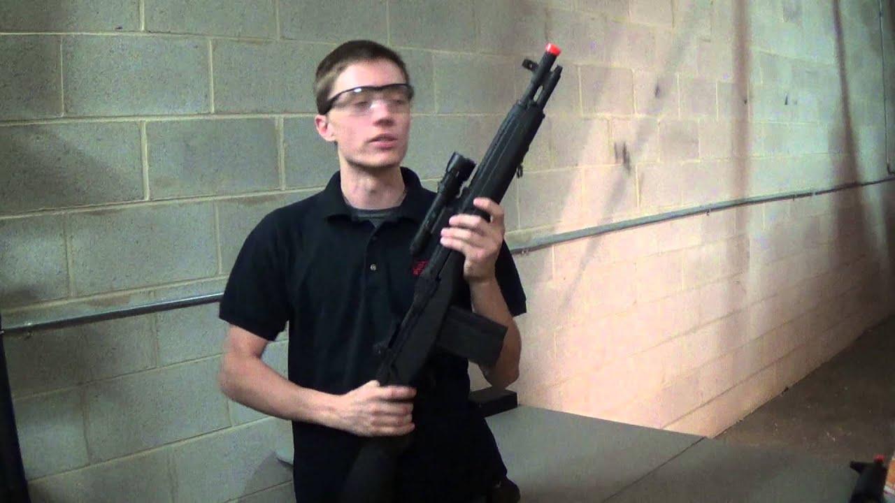 CYMA CM032A SOCOM 16 Carbine AEG Airsoft Rifle (Black)