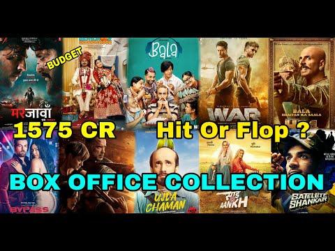 Box Office Collection Of Marjaavaan, Motichoor Chaknachoor, HF4, Bala, War Movie Etc 2019 Mp3