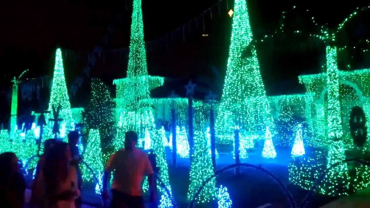 2012 Christmas Lights Show Plantation Acres, Fl - YouTube