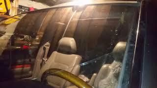 протекание крыши или почему мокрый пол на автомобилях land cruser 100 и lexus 470