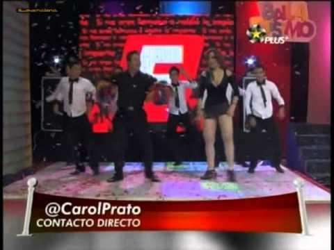 Carolina Prato bailando en minifalda... mas plus