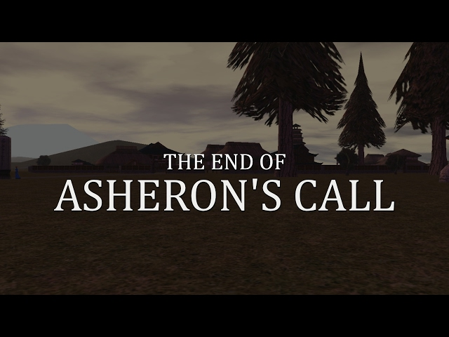 The last moments of Asheron's Call