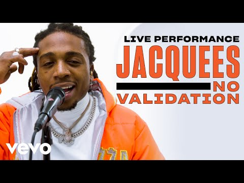 """Jacquees - """"No Validation"""" Live Performance 