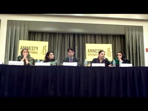 Amnesty International Panel Addresses Afghan Women's Rights