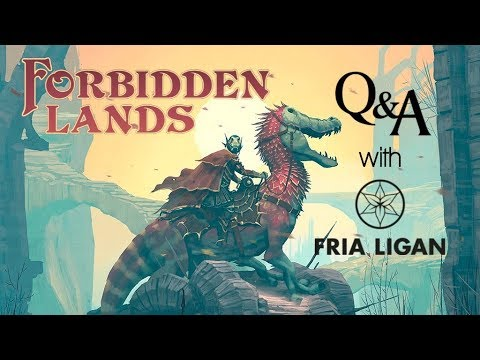 Forbidden Lands RPG Q&A w/Tomas Härenstam - Free League Publishing (Fria Ligan)
