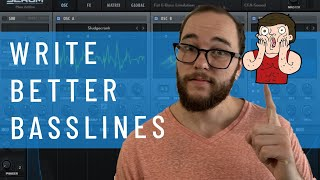 5 Ways to Proḋuce BETTER Basslines! (I use these in every track!)