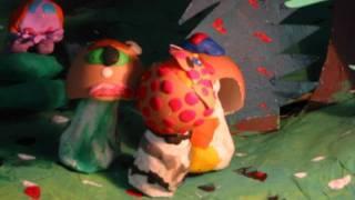 Promenade dans les bois ; la chasse aux champignons   version finale