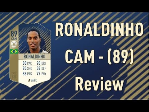FIFA 18 - Ronaldinho (89) - Icon Review