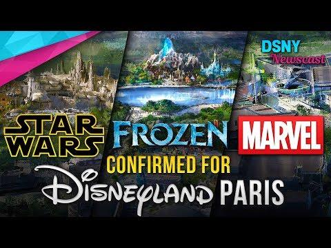 FROZEN, STAR WARS & MARVEL LANDS Coming to Disneyland Paris  Disney News  22718