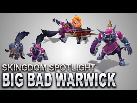 Big Bad Warwick Skin Spotlight | SKingdom - League of Legends | Compare