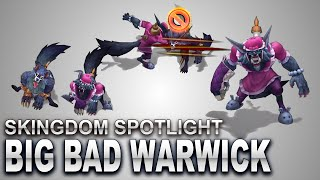 Big Bad Warwick Skin Spotlight | SKingdom - League of Legends | Compare