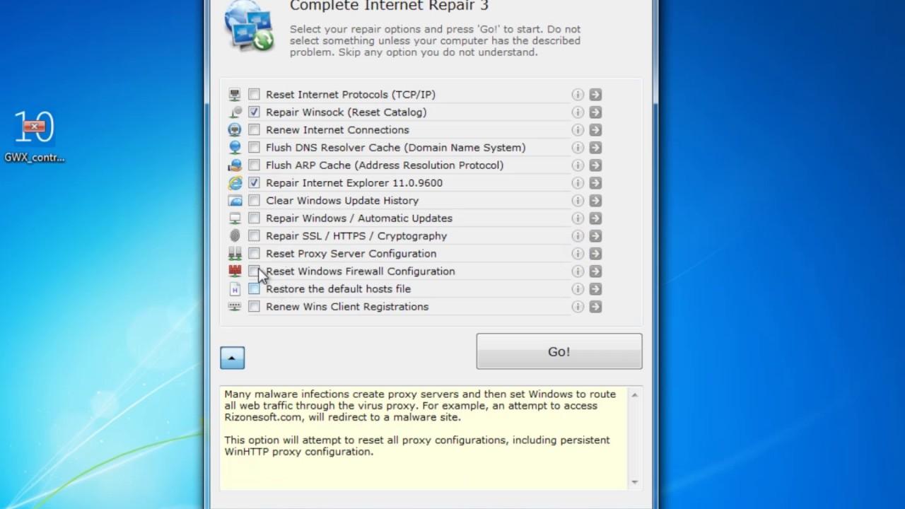 REPAIR INTERNET 0.9.5.955 COMPLETE GRATUIT TÉLÉCHARGER
