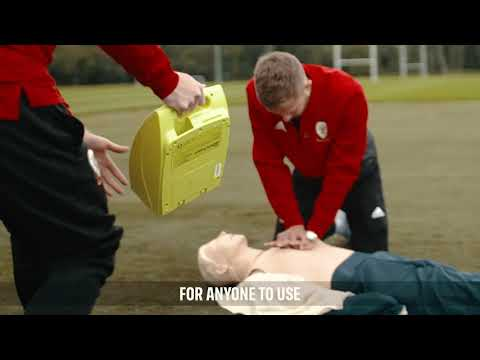 Learn CPR with Will Vaulks and Jonny Williams on #WorldHeartDay