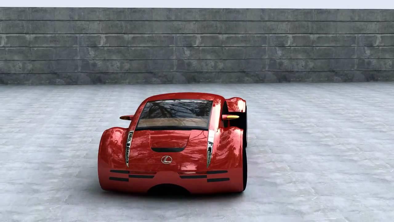 lexus 2054 minority report concept car 3d animation cgi hd youtube. Black Bedroom Furniture Sets. Home Design Ideas