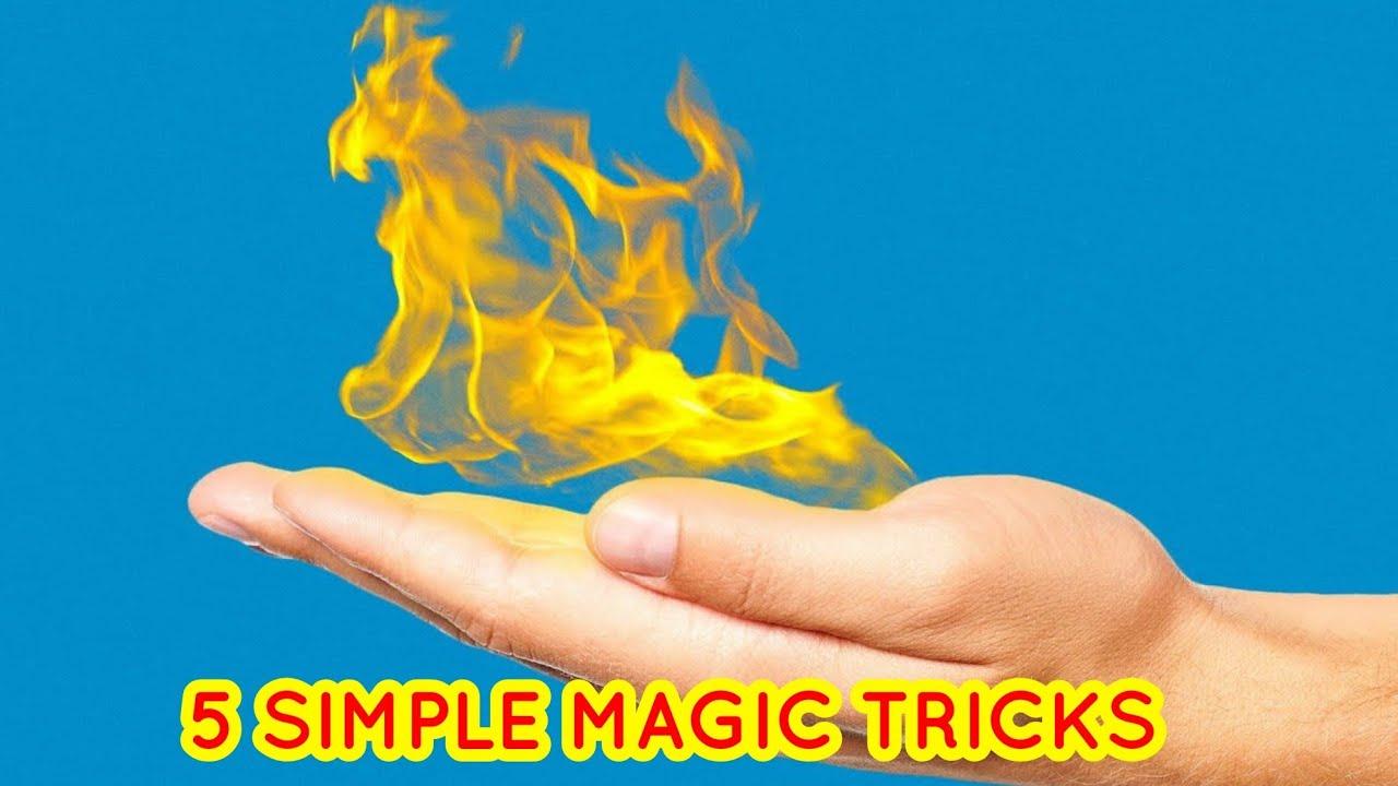 இது உங்களுக்கு தெரியுமா ??  | 5 SIMPLE MAGIC  TRICKS YOU SHOULD KNOW