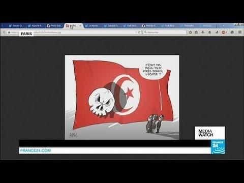 Tunis attack on social media