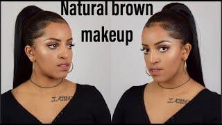 ላይት ቡኒ የሜክፕ አቀባብ/ Natural Brown Makeup/selamawit Seyoum
