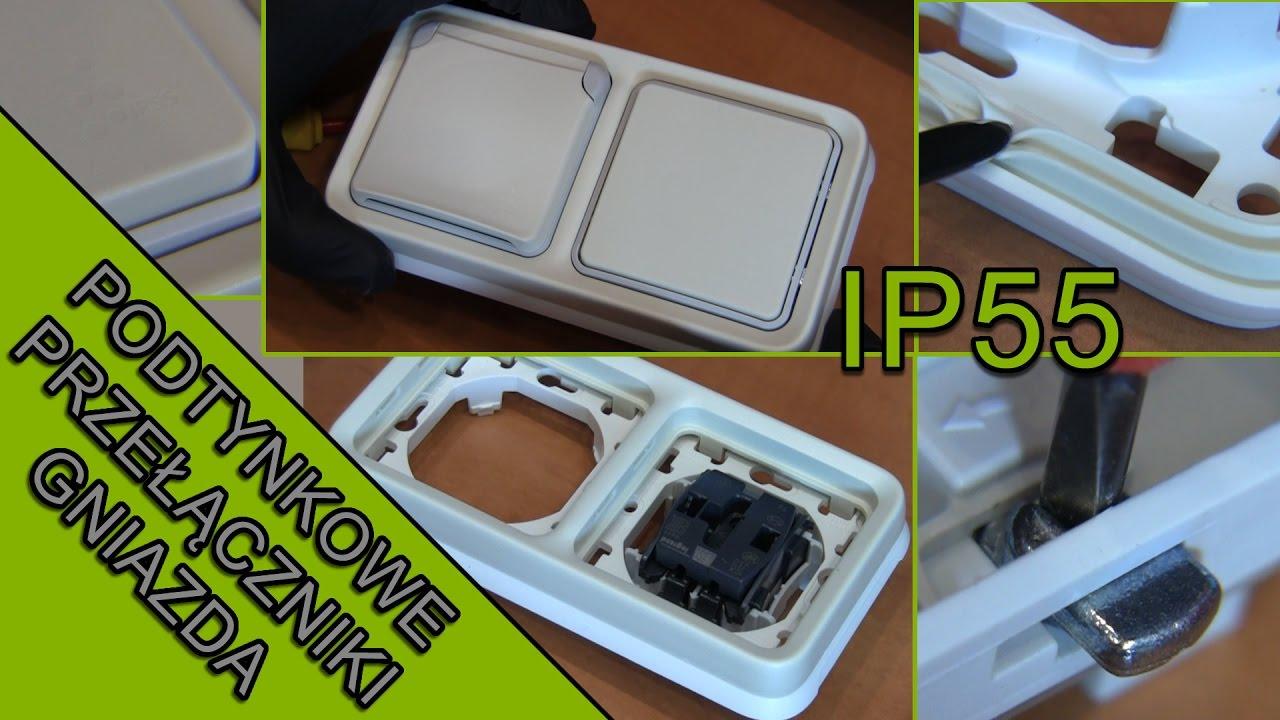 Dom | Przełączniki, gniazda na zewnątrz. Legrand Plexo IP55