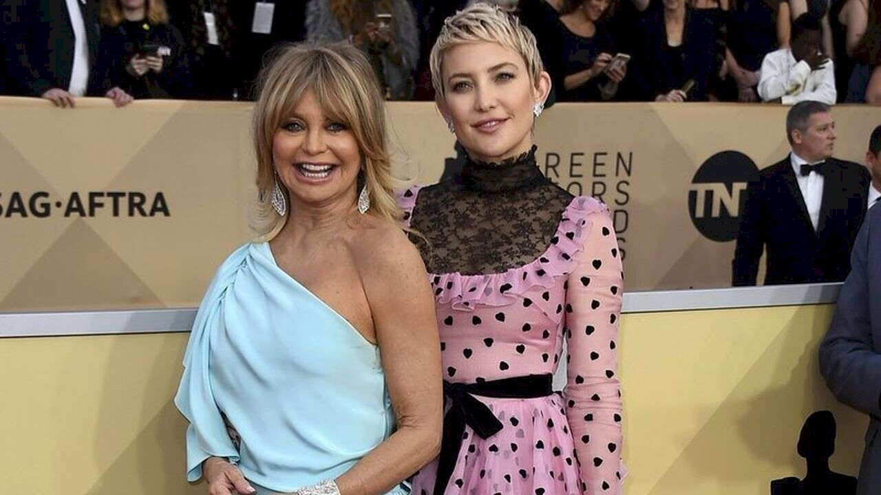 Kate Hudson shares Goldie Hawn tribute on her mom's 75th ...