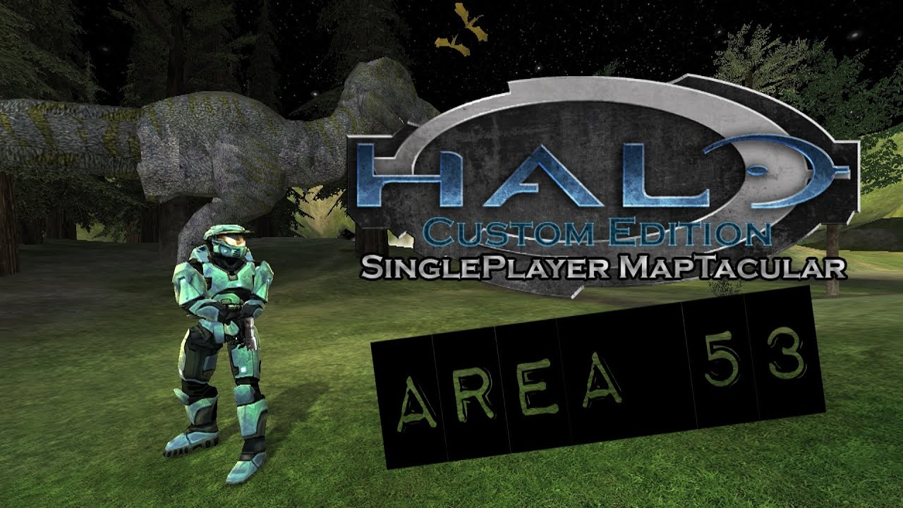 Halo Custom Edition SinglePlayer Maptacular - Area 53