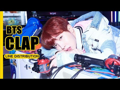 How would BTS sing SEVENTEEN - 'Clap' || Line Distribution