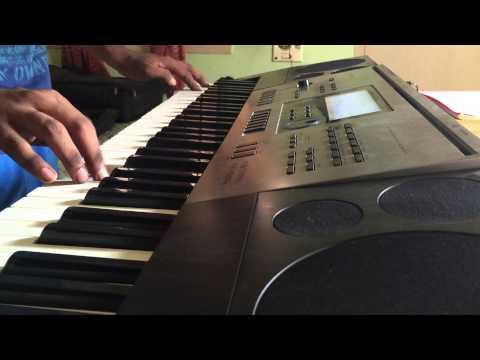 Cheliya cheliya (Yevadu) song instrumental/ keyboard