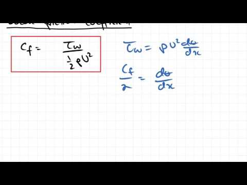 Drag and Friction Coefficients and Turbulent Boundary Layers | Fluid Mechanics