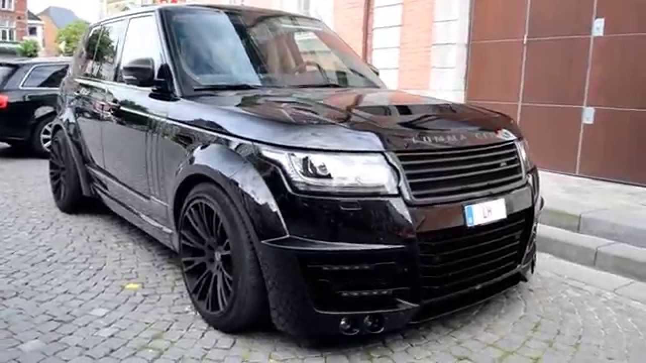 Exclusive First Range Rover Lumma Clr R In Belgium Youtube
