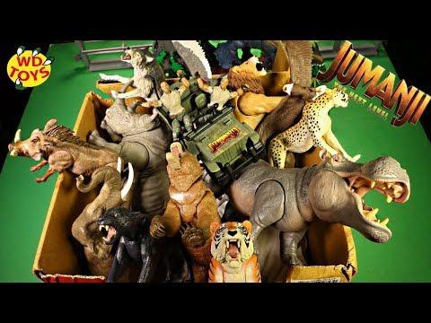 huge-box-new-jumanji-3-the-next-level-toys-complete-set-action-figures-dinosaur-toys-walmart-wd-toys
