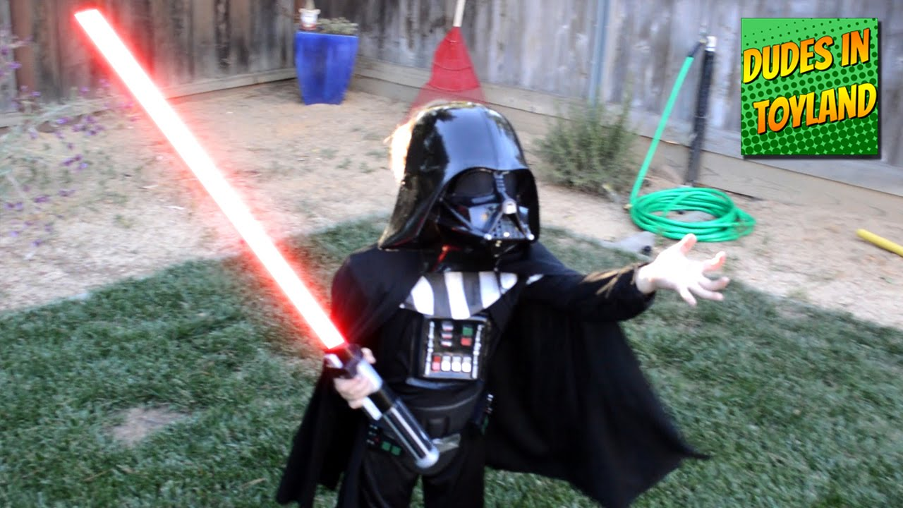 Star Wars kids real lightsaber duel videos para niños estar guars ... for How To Make A Lightsaber For Kids  56bof