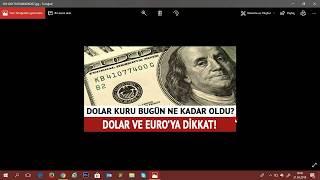 Dolar Kuru Nedir Dolar Ne olacak