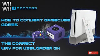 How To Convert Gamecube Games The Correct Way For Usb Loader Gx
