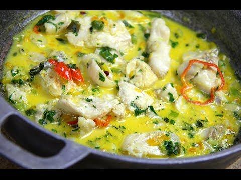 Coconut Stewed Fish (Haddock) #TastyTuesdays | CaribbeanPot.com